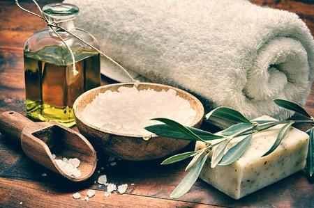 olive spa bath